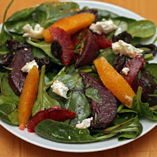 Roasted Beet Salad with Olives and Oranges