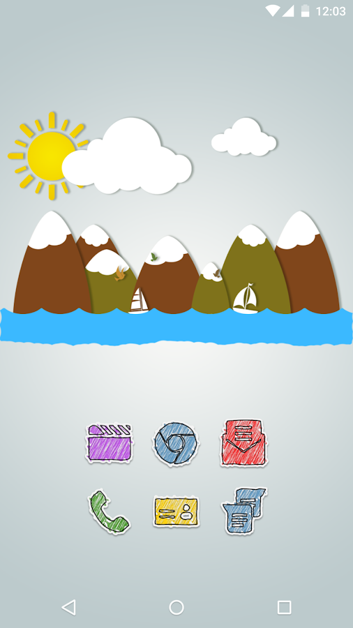 Diddly - Icon Pack Screenshot 1