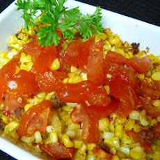 Fresh Corn and Tomato Casserole