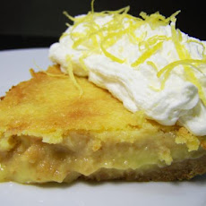 French Canadian Lemon Pie