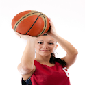 Girls Basketball Card Paid icon