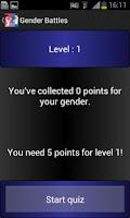Screenshot of Gender Battle