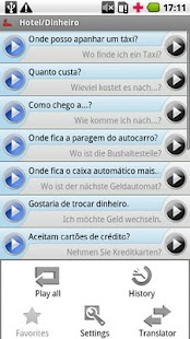 iSayHello Portuguese  - German - screenshot