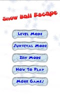 Screenshot of Snowball Escape