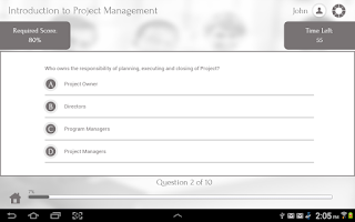 Screenshot of Learn Project Management