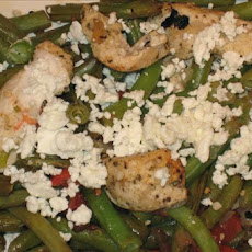 Greek Chicken and Vegetables in Foil