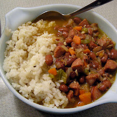 Cajun-Style Red Beans and Rice