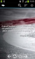 Screenshot of Hockey Quotes