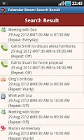 Screenshot of Business Calendar Boom Pro