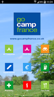 Screenshot of Camping France App