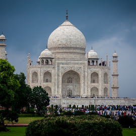Taj Mahal by Himanshu Sharma - Buildings & Architecture Public & Historical ( love, taj, wonder, maha, akbar, india, memory )