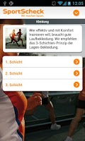 Screenshot of SportScheck Laufsport