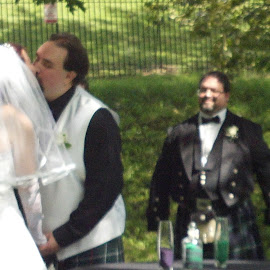 You May Now Kiss Your Bride by Rhonda Rossi - Wedding Ceremony (  )