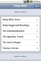 Screenshot of Free Daily Bible