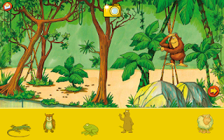 Screenshot of Discover English Learn at Zoo
