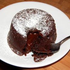 Chocolate Molten Lava Brownie Bites