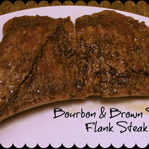 Bourbon and Brown Sugar Flank Steak