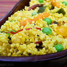 Orange Couscous Curry