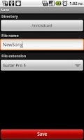 Screenshot of Guitar Partner Lite