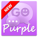 Purple GO SMS Theme icon