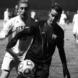 Black and White by Justin Quinn - Sports & Fitness Soccer/Association football