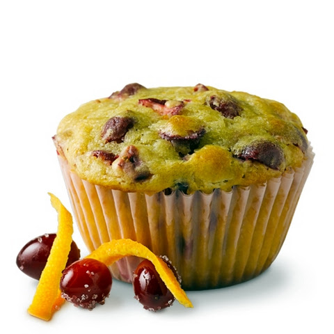 Cranberry Orange Muffins with Truvía® Baking Blend
