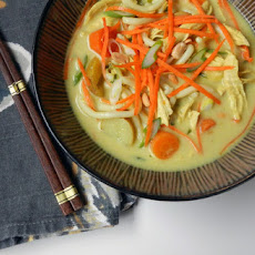 Massaman-inspired Chicken Noodle Soup