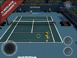 Screenshot of Cross Court Tennis 2
