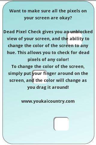 Dead Pixel Check