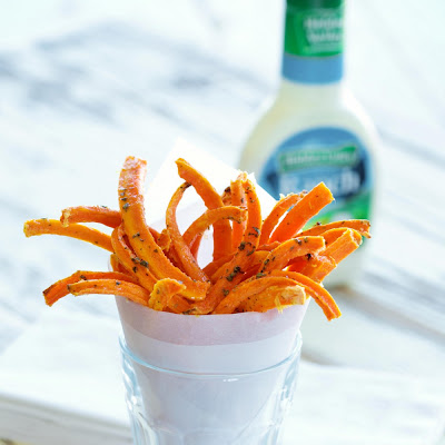 Carrot Oven Fries