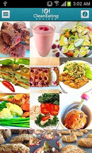 Clean Eating Recipes - screenshot