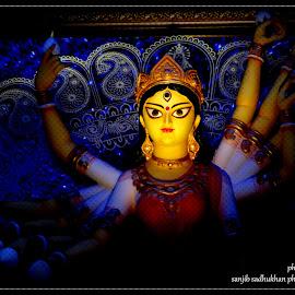 DURGA MAA by Sanjib Sadhukhan - Wedding Bride & Groom