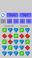 Screenshot of RGB Diamonds