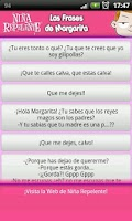 Screenshot of Las Frases de Margarita