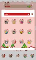 Screenshot of VivaSanta dodol launcher theme