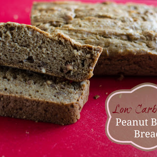 Low Carb Keto Peanut Butter Bread