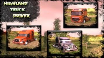 Screenshot of Highland Truck Driver Car Sim