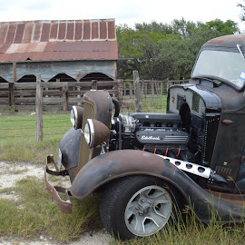 Barn Find by Kevin Dietze - Transportation Automobiles