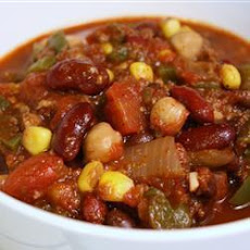 The Best Vegetarian Chilli