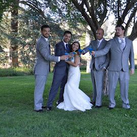 Cheers! by Nancy Lowrie - Wedding Groups ( Wedding, Weddings, Marriage )