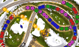 Screenshot of Loco Train Xmas