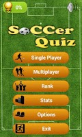 Screenshot of Soccer Logo Quiz