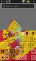 Screenshot of Spanish Keyboard