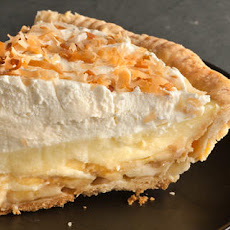Banoconut Cream Pie