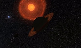 Screenshot of Solar System 3D Wallpaper Pro