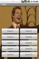 Screenshot of Mr. Trololo Soundboard