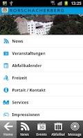 Screenshot of Rorschacherberg
