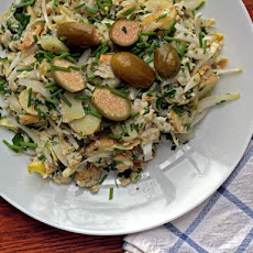 Smoked Trout, Potato, and Endive Salad