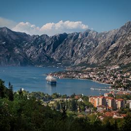 Kotor bay by Wim Moons - Landscapes Travel ( montenegro, trojica, kotor, mne )