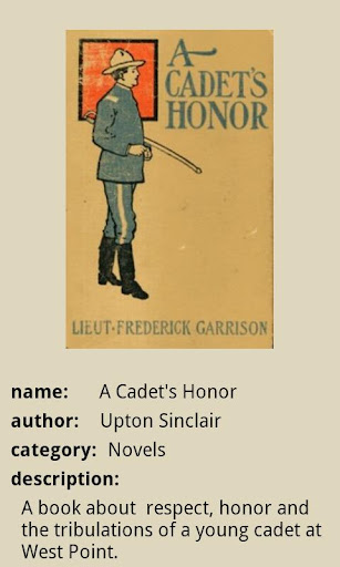 A Cadet's Honor
